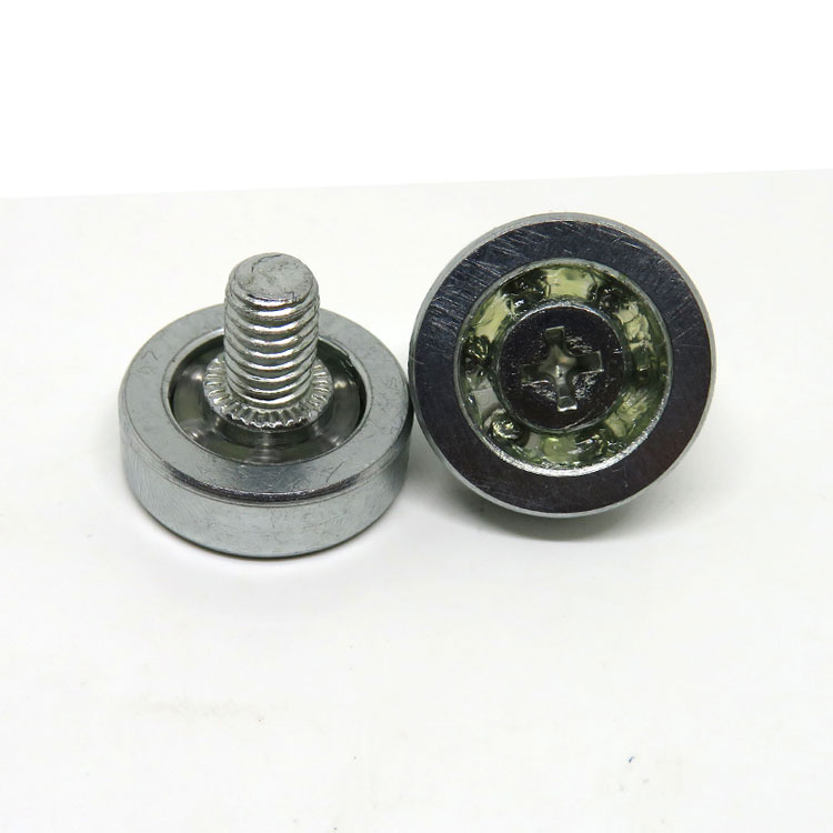 Metal Drawer Roller 19mm Kitchen Display Metal Roller DR19