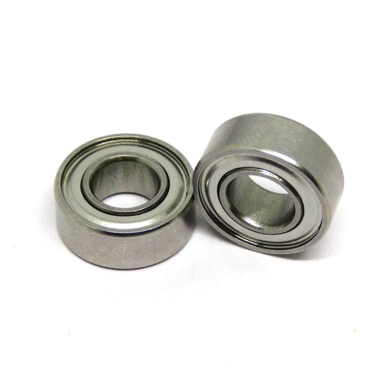 SR4ZZ Stainless Steel Miniature Ball Bearing 1/4x5/8x0.196 inch Shielded