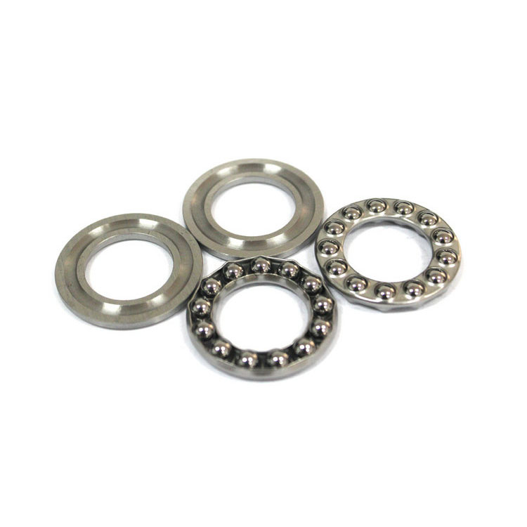 Miniature F5-12M plane thrust bearings 5x12x4mm